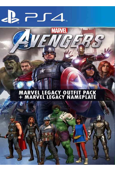 Marvel's Avengers - (Legacy Outfit Pack + Nameplate) (DLC) (PS4)