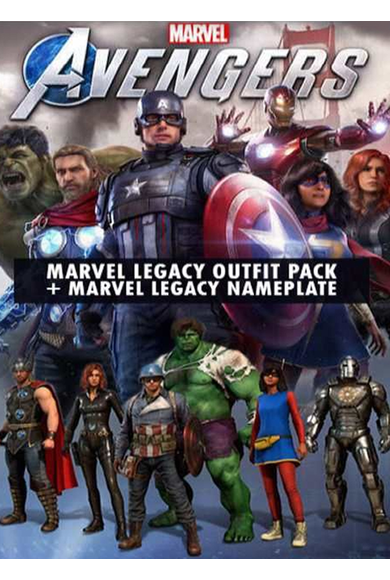 Marvel's Avengers - (Legacy Outfit Pack + Nameplate) (DLC)