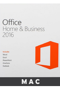 Microsoft Office Home and Business 2016 (for Mac)
