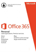 Microsoft Office 365 Personal - 1 User 1 Year (PC/MAC)