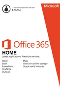 Microsoft Office 365 Home - 6 User 1 Year (PC/MAC)