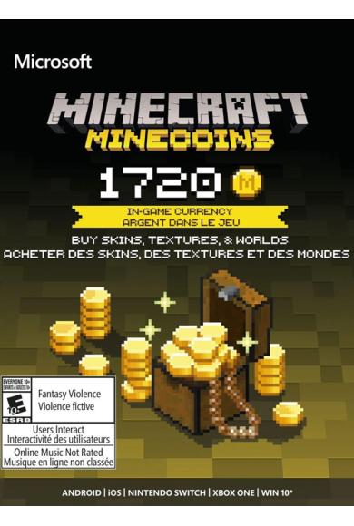 Minecraft - 1720 Minecoins
