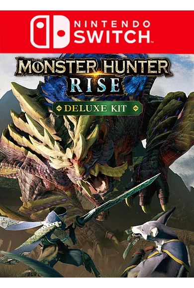 Monster Hunter Rise - Deluxe Kit (Switch)