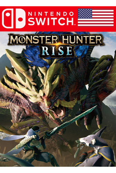 Monster Hunter Rise (USA) (Switch)