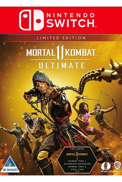 Mortal Kombat 11 - Ultimate Edition (Switch)