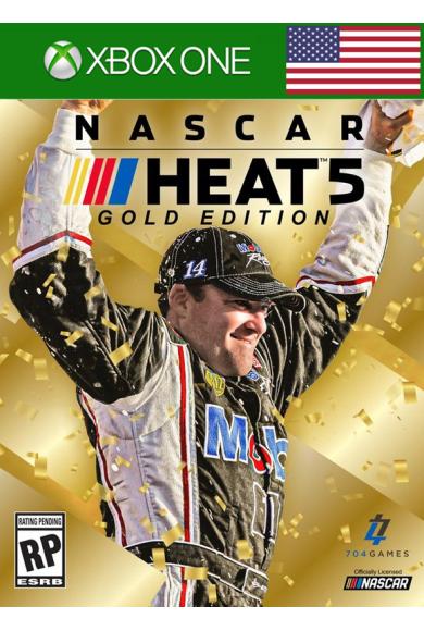 NASCAR Heat 5 - Gold Edition (USA) (Xbox One)