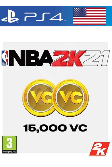 NBA 2K21 - 15000 VC (USA) (PS4)