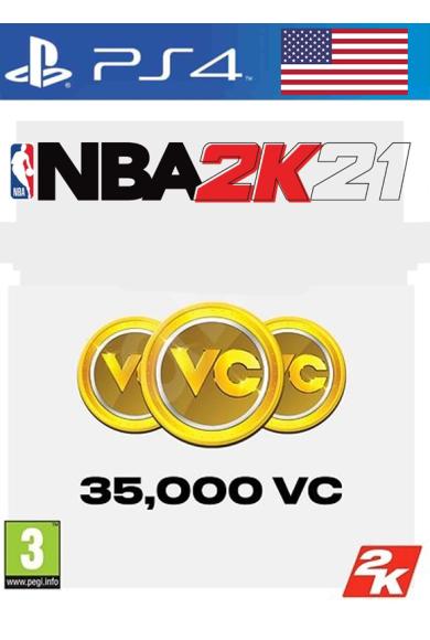 NBA 2K21 - 35000 VC (USA) (PS4)