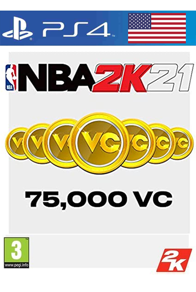 NBA 2K21 - 75000 VC (USA) (PS4)