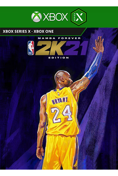 NBA 2k21 Next Generation Mamba Forever Edition Bundle (Xbox Series X)