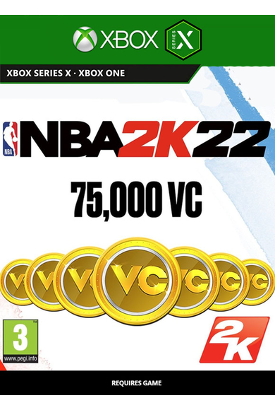 NBA 2K22 75000 VC (Xbox One / Series X|S)
