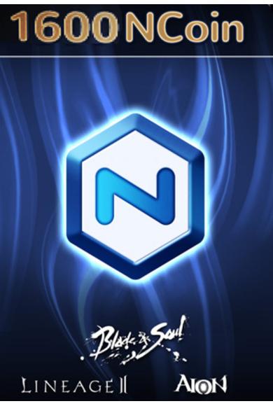 NCSoft NCoin Card 1600