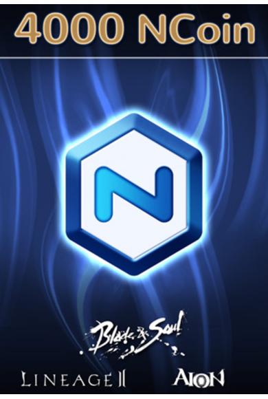 NCSoft NCoin Card 4000