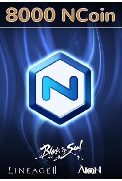 NCSoft NCoin Card 8000