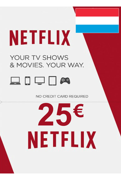 Netflix Gift Card 25€ (EUR) (Luxembourg)