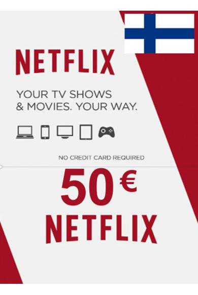 Netflix Gift Card 50€ (EUR) (Finland)
