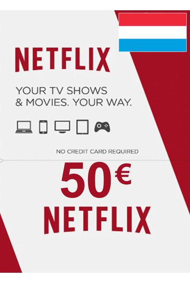 Netflix Gift Card 50€ (EUR) (Luxembourg)