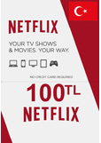 Netflix Gift Card 100 (TL) (TURKEY)