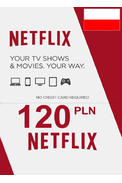 Netflix Gift Card 120 (PLN) (POLAND)