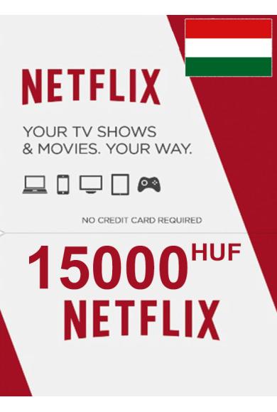 Netflix Gift Card 15000 (HUF) (Hungary)