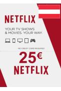 Netflix Gift Card 25€ (EUR) (Austria)