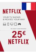 Netflix Gift Card 25€ (EUR) (France)