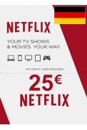 Netflix Gift Card 25€ (EUR) (Germany)
