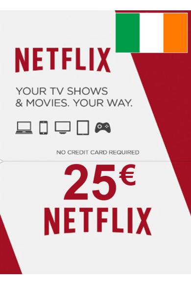 Netflix Gift Card 25€ (EUR) (Ireland)