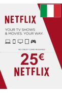 Netflix Gift Card 25€ (EUR) (Italy)