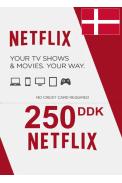 Netflix Gift Card 250 (DKK) (Denmark)