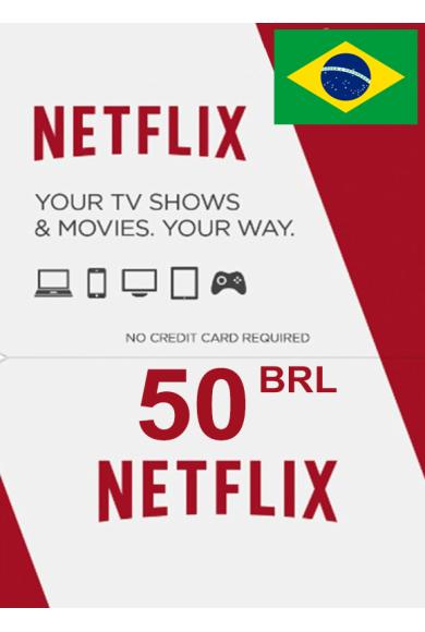 Netflix Gift Card 50 (BRL) (BRAZIL)