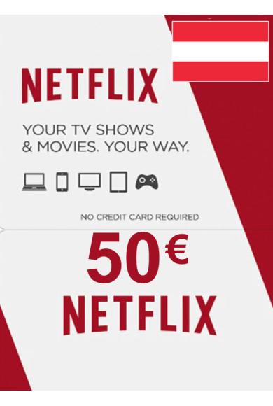 Netflix Gift Card 50€ (EUR) (Austria)