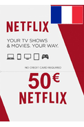 Netflix Gift Card 50€ (EUR) (France)