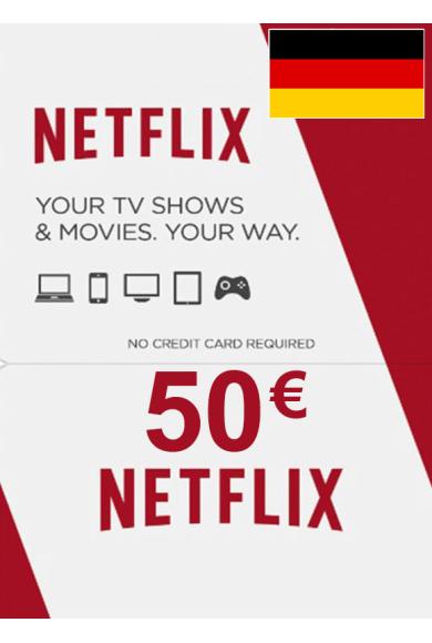 Netflix Gift Card 50€ (EUR) (Germany)