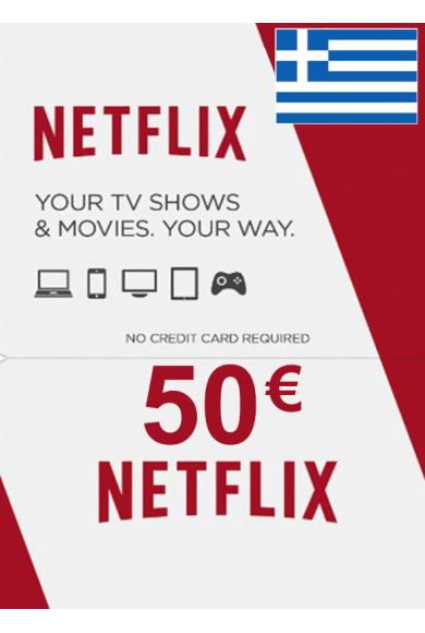 Netflix Gift Card 50€ (EUR) (Greece)