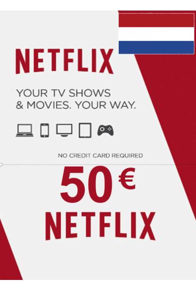 Netflix Gift Card 50€ (EUR) (Netherlands)