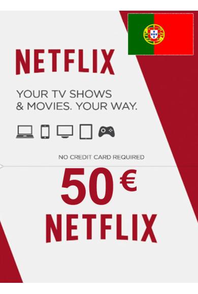 Netflix Gift Card 50€ (EUR) (Portugal)