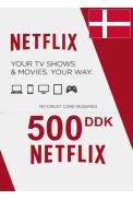 Netflix Gift Card 500 (DKK) (Denmark)