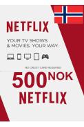 Netflix Gift Card 500 (NOK) (Norway)