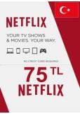 Netflix Gift Card 75 (TL) (TURKEY)