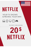Netflix Gift Card $20 (USD) (USA)