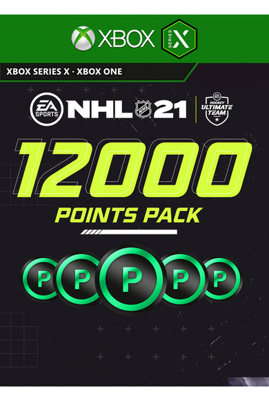 NHL 21 - 12000 Points Pack (Xbox One / Series X)