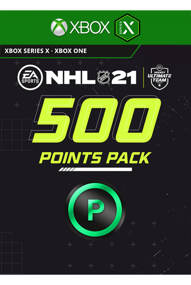 NHL 21 - 500 Points Pack (Xbox One / Series X)
