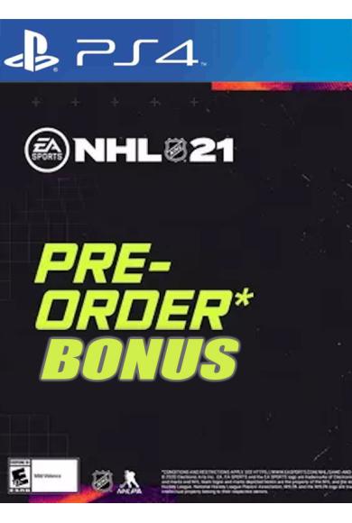 NHL 21 Pre-order Bonus (DLC) (PS4)