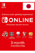 Nintendo Switch Online - 3 Month (90 Day) (JAPAN) Membership