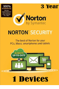 Norton Security - 1 Devices 3 Year