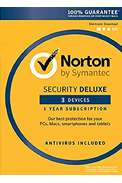 Norton Security Deluxe - 3 Devices 1 Year