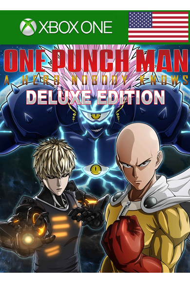One Punch Man: A Hero Nobody Knows - Deluxe Edition (USA) (Xbox One)