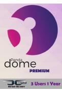 Panda Dome Premium - 3 User 1 Year
