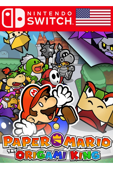 Paper Mario: The Origami King (USA) (Switch)